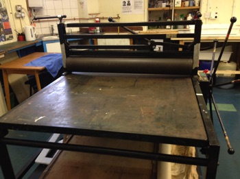 TOFKO  Etching & Relief Press Press Bed: 180cm x 100cm