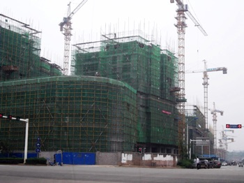 New buildings in Changsha