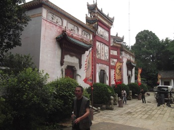 Qu Yuan Shrine in Miluo North of Changsha