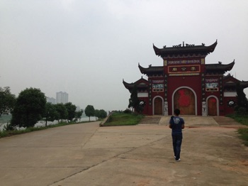 Temples near Changsha Normal University