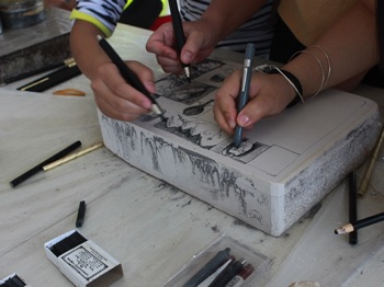 Drawing up a Stone