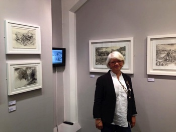 2015 Exhibition MA Judith Woodings Lithography