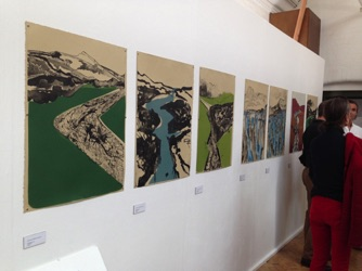 2014 Exhibition BA Amanda Botha Lithography