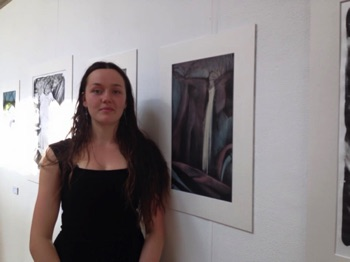 2015 Exhibition BA Lola O'Reilly Lithography