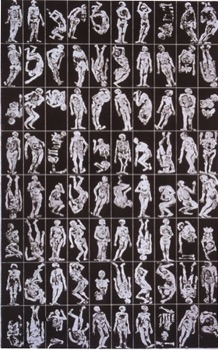 Gene Chu (Canada) The Nameless Civilians III Gum drawing on plate 520mm x 320mm
