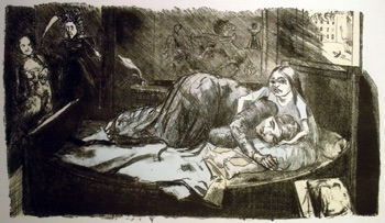 Paula Rego (UK) Jane and Helen Stone and Photoplate 310mm x 540mm