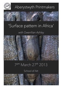 Gwenllian Ashley Surface Pattern in Africa